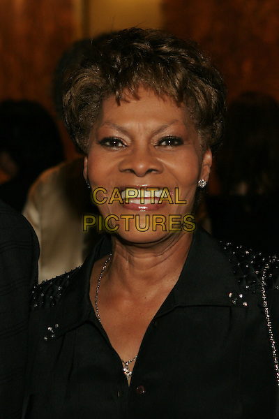 "17 October 2005 - Beverly Hills, California - Dionne Warwick.  ""The Party"" presented by David Gest and Dionne Warwick held at the Beverly Hilton Hotel.  Photo Credit: Zach Lipp/AdMedia"