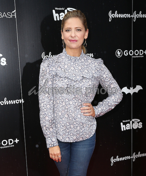 30 October 2016 - Hollywood, California - Sarah Michelle Gellar. GOOD+ Foundation 1st Annual Halloween Bash held at Sunset Gower Studios. Photo Credit: PMA/AdMedia