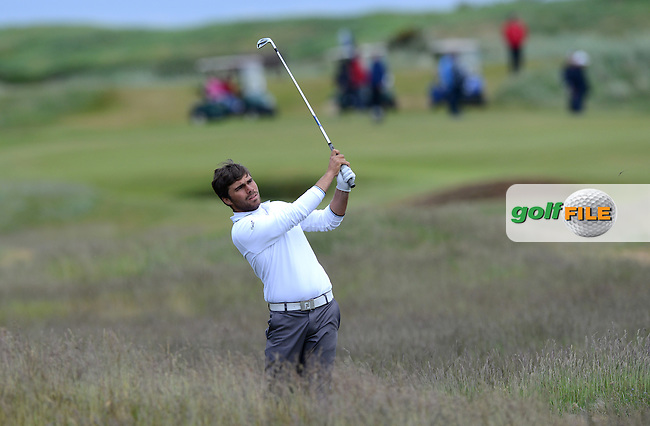 Romain Langasque of France during the Semi-Finals of the 120th Amateur Championship at Carnoustie Golf Links, Carnoustie, Scotland. Picture: Golffile | Richard Martin Roberts<br /> All photo usage must carry mandatory copyright credit (&copy; Golffile | Richard Martin Roberts)