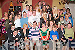 Charollotte Griffin(farmers Bridge Tralee)seated centre had a ball at her 18th birthday in the Imperial Hotel Denny St Tralee last Saturday night with all the family and friends..