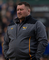 Wasps' Head Coach Dai Young<br /> <br /> Photographer Bob Bradford/CameraSport<br /> <br /> European Rugby Heineken Champions Cup Pool 1 - Bath Rugby v Wasps - Saturday 12th January 2019 - The Recreation Ground - Bath<br /> <br /> World Copyright &copy; 2019 CameraSport. All rights reserved. 43 Linden Ave. Countesthorpe. Leicester. England. LE8 5PG - Tel: +44 (0) 116 277 4147 - admin@camerasport.com - www.camerasport.com
