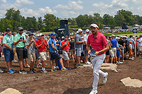 Mike Lorenzo-Vera (FRA) heads for 12 during 4th round of the 100th PGA Championship at Bellerive Country Club, St. Louis, Missouri. 8/12/2018.<br /> Picture: Golffile   Ken Murray<br /> <br /> All photo usage must carry mandatory copyright credit (© Golffile   Ken Murray)