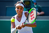 London, England, 6 th. July, 2018, Tennis,  Wimbledon, Womans singel third round,  Venus Williams (USA) in her match against Kiki Bertens (NED)<br /> Photo: Henk Koster/tennisimages.com