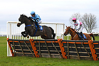 Flashing Dance ridden by Stan Sheppard in The Hookey Ham Patrick Handicap Hurdle during Horse Racing at Wincanton Racecourse on 5th December 2019