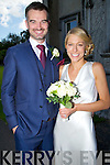 Joanne Laffan, daughter of Pat and Kay,Liscahane, Tralee and Macdara Norris son of Clive and Siobhan, Athlone, who were married on Friday in Ballyseede Castle Hotel, Tralee. Best man was Conan Norrie (brother of the groom), BRidesmaid was Gillian Quinlan. Flowergirl was Zuleikha Robinson. The reception was in Ballyseede Castle Hote, Tralee. The couple will reside Dublin