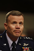 General Tod D. Wolters, United States Air Force, testifies before the Senate Armed Services Committee for reappointment to the grade of general and to be Commander, United States European Command and Supreme Allied Commander Europe, in Washington, DC, April 2, 2019.<br /> Credit: Martin H. Simon / CNP