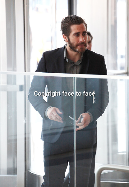 Jake Gyllenhaal at The Headstrong Project - 'Words Of War' Event at IAC HQ in New York City on 5/8/2013....Credit: McBride/face to face