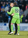 14/11/2010   Copyright  Pic : James Stewart.sct_jspa009_st_mirren_v_celtic  .::  CELTIC MANAGER NEIL LENNON WITH GOAL SCORER GARY HOOPER  AT THE END OF THE GAME ::.James Stewart Photography 19 Carronlea Drive, Falkirk. FK2 8DN      Vat Reg No. 607 6932 25.Telephone      : +44 (0)1324 570291 .Mobile              : +44 (0)7721 416997.E-mail  :  jim@jspa.co.uk.If you require further information then contact Jim Stewart on any of the numbers above.........