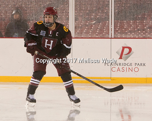 Briana Mastel (Harvard - 17) - The Boston College Eagles defeated the Harvard University Crimson 3-1 on Tuesday, January 10, 2017, at Fenway Park in Boston, Massachusetts.The Boston College Eagles defeated the Harvard University Crimson 3-1 on Tuesday, January 10, 2017, at Fenway Park.
