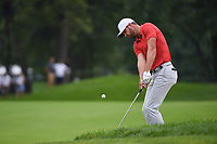 Kevin Tway (USA) chips on to 3 during Rd3 of the 2019 BMW Championship, Medinah Golf Club, Chicago, Illinois, USA. 8/17/2019.<br /> Picture Ken Murray / Golffile.ie<br /> <br /> All photo usage must carry mandatory copyright credit (© Golffile   Ken Murray)