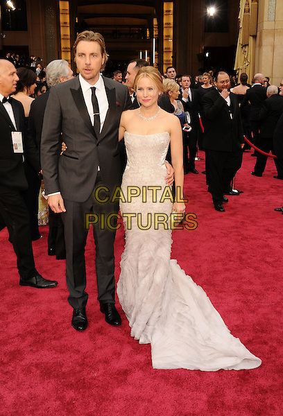 HOLLYWOOD, CA- MARCH 02: Actors Dax Shepard  (L) and Kristen Bell attend the 86th Annual Academy Awards held at Hollywood &amp; Highland Center on March 2, 2014 in Hollywood, California.<br /> CAP/ROT/TM<br /> &copy;Tony Michaels/Roth Stock/Capital Pictures