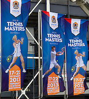 22-12-13,Netherlands, Rotterdam,  Topsportcentrum, Tennis Masters, Flagg's<br /> Photo: Henk Koster
