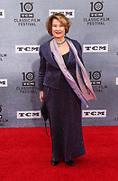 Los Angeles CA Apr 11: Diane Baker, arrive to 2019 TCM Classic Film Festival Opening Night Gala And 30th Anniversary Screening Of &quot;When Harry Met Sally&quot;, TCL Chinese Theatre, Los Angeles, USA on April 11, 2019 <br /> CAP/MPI/FS<br /> &copy;FS/MPI/Capital Pictures