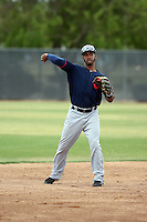 Ivan Castillo - Cleveland Indians 2016 spring training (Bill Mitchell)