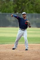Ivan Castillo - Cleveland Indians 2016 spring training (Bill Mitchell)