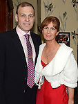 Martin and Paula Crosbie pictured at the 65 Roses ball in the Grove hotel. Photo:Colin Bell/pressphotos.ie