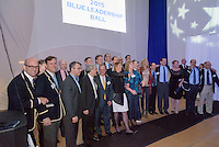 Yale Athletics Blue Leadership Ball & George H.W. Bush '48 Lifetime of Leadership Awards. 20 November 2015 at the William K. Lanman Center, Payne Whitney Gymnasium, Yale University.