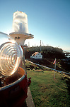Lighthouse, Inside Passage, British Columbia, Canada, Scarlett Point Light,.
