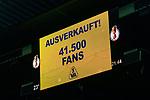 10.08.2019, wohninvest WESERSTADION, Bremen, GER, DFB-Pokal, 1. Runde, SV Atlas Delmenhorst vs SV Werder Bremen<br /> <br /> im Bild<br /> Anzeigetafel / Zuschauerzahl, 41500 Fans, Ausverkauft!, <br /> <br /> während DFB-Pokal Spiel zwischen SV Atlas Delmenhorst und SV Werder Bremen im wohninvest WESERSTADION, <br /> <br /> Foto © nordphoto / Ewert