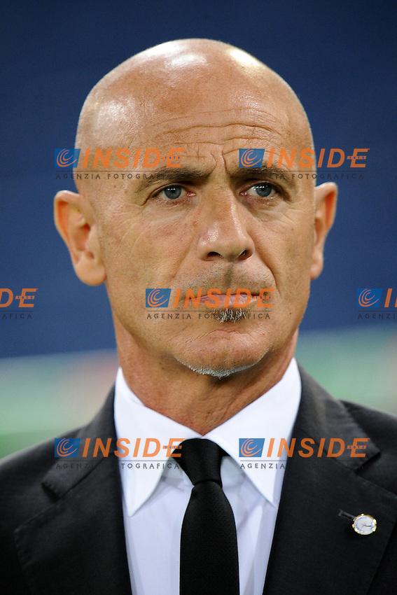 Giuseppe Sannino, allenatore del Palermo..02/09/2012 Roma.Stadio Olimpico.Football Calcio 2012 / 2013 .Campionato di Calcio Serie A.Lazio vs Palermo 3-0.Foto Insidefoto / Antonietta Baldassarre.