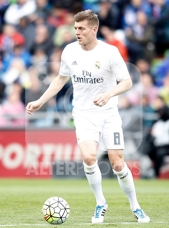 Real Madrid's Toni Kroos during La Liga match. April 16,2016. (ALTERPHOTOS/Acero)