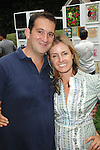 Nick Grouf, Shana Eddy==<br /> LAXART 5th Annual Garden Party Presented by Tory Burch==<br /> Private Residence, Beverly Hills, CA==<br /> August 3, 2014==<br /> &copy;LAXART==<br /> Photo: DAVID CROTTY/Laxart.com==