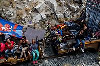 """La Caravana del Migrante con un contingente de alrededor de 600 personas en su mayoría de origen centroamericano, arribo a Hermosillo Sonora a bordo del tren conocido como """"La Bestia"""", provienen de la frontera Sur del País y con rumbo a la ciudad de Mexicali donde continuaran el viaje hasta Tijuana.<br /> La caravana tiene como objetivo solicitar <br /> asilo a Estados Unidos y algunos integrantes piensan solicitar una visa humanitaria en México para laborar en los campos de Sonora y Baja California.<br /> La Caravana del Migrante conformada por un contingente de 600 personas su mayoría de origen centroamericano, arribaron a Hermosillo a bordo del tren conocido como """"La Bestia"""", provienen de la frontera Sur del País y con rumbo a la ciudad de Mexicali donde continuaran el viaje hasta Tijuana.<br /> La caravana tiene como objetivo solicitar <br /> asilo a Estados Unidos y algunos integrantes piensan solicitar una visa humanitaria en Mexico para laborar en los campos de Sonora y Baja California.<br /> (Photo: NortePhoto/Luis Gutierrez)"""