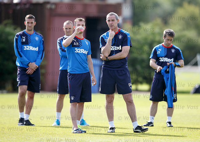 David Weir and Andy Halliday