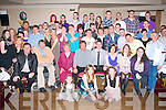 key to the Door: Terry O'Brien,FarmersBridge,Tralee(seated centre)had cracker at his 21st birthday celebration in the Kerin's O'Rahilly's GAA clubhouse,Strand Rd,Tralee last Saturday night surrounded by many family and friend's.