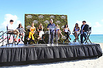 Sports Illustrated Models and Mayor Francis Suarez announce the SI Swimsuit Island! Held at The W Hotel on South Beach