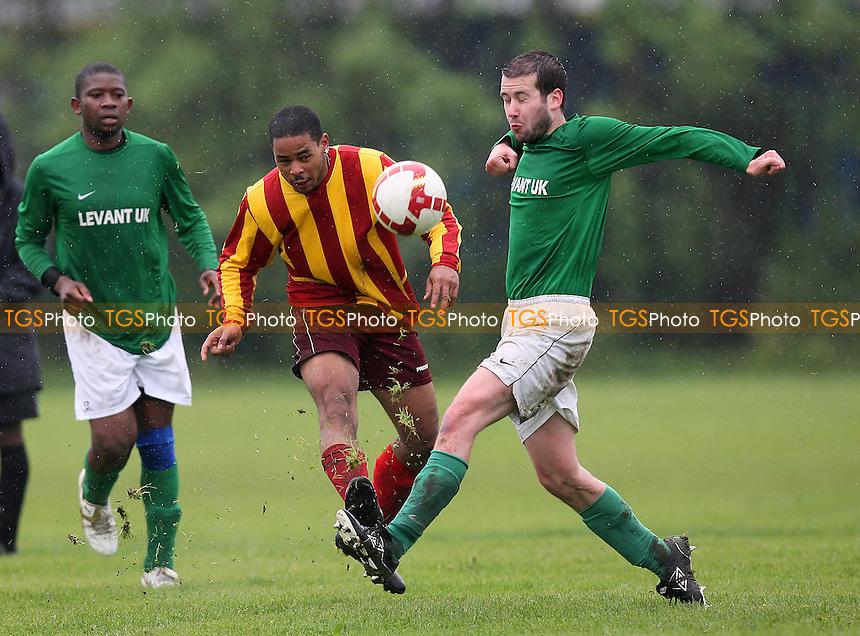 Lockers (green) vs Tottenham Phoenix - Hackney & Leyton League at East Marsh - 02/05/10 - MANDATORY CREDIT: Gavin Ellis/TGSPHOTO - Self billing applies where appropriate - Tel: 0845 094 6026