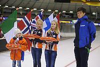SCHAATSEN: HEERENVEEN: IJsstadion Thialf, 30-01-15, Viking Race, Internationaal Jeugdtoernooi 11-16 jaar, Patrick Roest, ©foto Martin de Jong