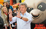 Dustin Hoffman arriving at the Kung Fu Panda 2 premiere, held at Mann's Chinese theatre Los Angeles, Ca. May 22, 2011. © Fitzroy Barrett