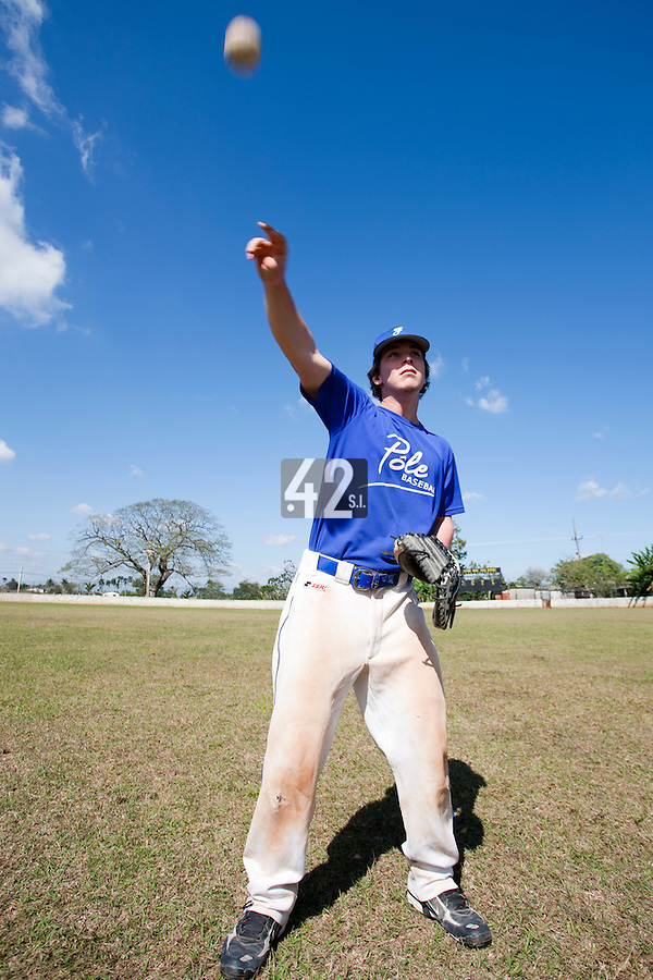 BASEBALL - POLES BASEBALL FRANCE - TRAINING CAMP CUBA - HAVANA (CUBA) - 13 TO 23/02/2009 - TOM MAYEUX (FRANCE)