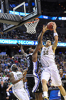 Gary McGhee of the Panthers gets the defensive rebound. Pittsburgh defeated UNC-Asheville 74-51 during the NCAA tournament at the Verizon Center in Washington, D.C. on Thursday, March 17, 2011. Alan P. Santos/DC Sports Box