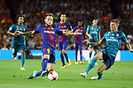 Supercopa de Espa&ntilde;a - Ida.<br /> FC Barcelona vs R. Madrid: 1-3.<br /> Ivan Rakitic vs Kroos.