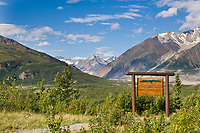 Black rapids glacier, Alaska Range, Interior Alaska.
