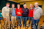 Pictured at the Culture Night in Waterville's Tech Amergin on Friday evening were Pádraig Ó Gairbhí, Mortimer Moriarty, Jack O'Donnell, Pat Molony, Roger Harty & Brian Gallagher.
