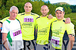 Jotty Culhane, Tom O'Sullivan, Willie Forristal and Gordan Flannery, Glin, pictured at the start of the Maxi Marathon held in Killarney on Saturday...