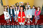 Students from St. Brendan's Fenit NS were confirmed by the Bishop of Kerry Ray Browne at the Church of the Purification, Churchill on Tuesday with Fr. Mulvihill, Class Teacher Caroline O'Connor and Aisling O'Sullivan (principal)