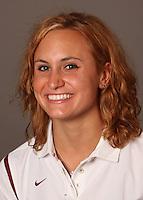 STANFORD, CA - SEPTEMBER 10:  Samantha Woodward of the Stanford Cardinal during women's swimming picture day on September 10, 2009 in Stanford, California.