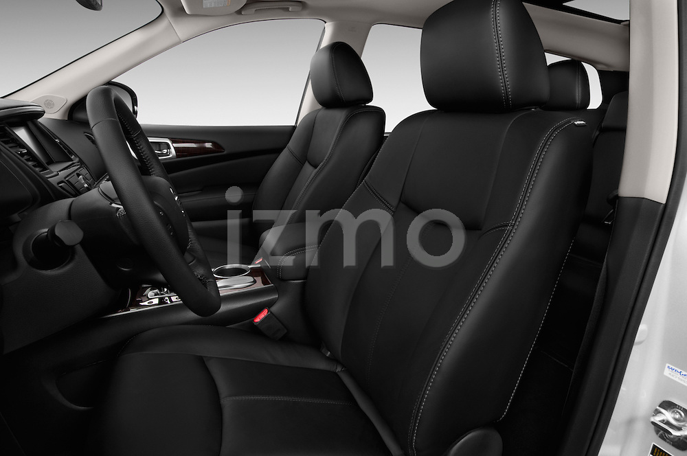 Front seat view of a 2015 Nissan Pathfinder Sl 2Wd 5 Door Suv 2WD Front Seat car photos