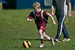 Pukekohe AFC 9th Grade Yellow Tails vs Papakura Kelvin rd School football game played at Bledisloe Park Pukekohe on Saturday May 17th 2008.