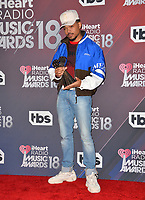 Chance The Rapper at the 2018 iHeartRadio Music Awards at The Forum, Los Angeles, USA 11 March 2018<br /> Picture: Paul Smith/Featureflash/SilverHub 0208 004 5359 sales@silverhubmedia.com