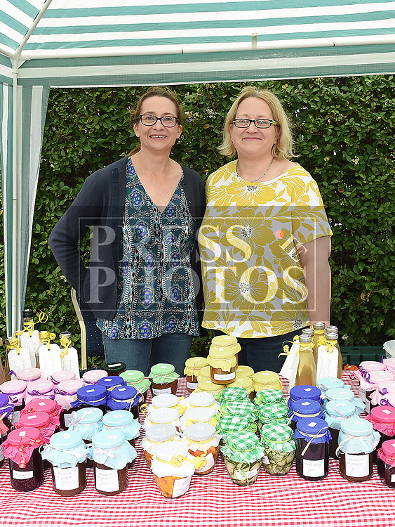 Jean Wilkinson and Jill Sloan at the Fair Day at St. Peter's Church of Ireland. Photo:Colin Bell/pressphotos.ie