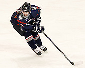 Justine Fredette (UConn - 14) - The Boston College Eagles defeated the visiting UConn Huskies 4-0 on Friday, October 30, 2015, at Kelley Rink in Conte Forum in Chestnut Hill, Massachusetts.