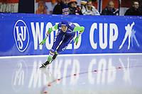 SCHAATSEN: HEERENVEEN: 14-12-2014, IJsstadion Thialf, ISU World Cup Speedskating, Anice Das, ©foto Martin de Jong
