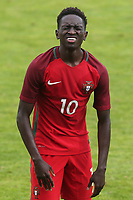 Domingos Quina of West Ham and Portugal U19's shows his frustration at the final whistle after losing 2-1 during Portugal Under-19 vs Turkey Under-21, Tournoi Maurice Revello Football at Stade Parsemain on 3rd June 2018
