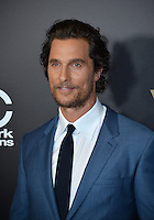 BEVERLY HILLS, CA. November 6, 2016: Actor Matthew McConaughey at the 2016 Hollywood Film Awards at the Beverly Hilton Hotel.<br /> Picture: Paul Smith/Featureflash/SilverHub 0208 004 5359/ 07711 972644 Editors@silverhubmedia.com