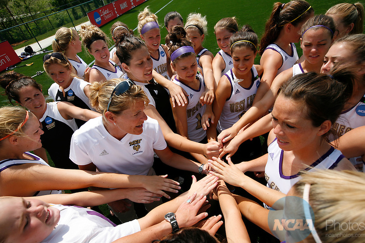 13 MAY 2007:  C.W. Post takes on West Chester University during the Division II Women's Lacrosse Championship held at Spartan Field in Salem, VA.  C.W. Post defeated West Chester 15-7 for the national title.  Don Peterson/NCAA Photos